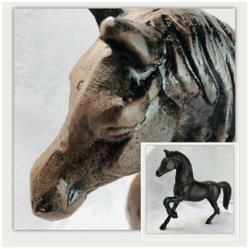 "Primary image for Horse Western Sculpture Handmade In Texas 9.5""X 13"" Cast Aluminum Walking Horse"