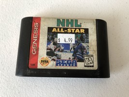 NHL All-Star Hockey 95 - Sega Genesis - Cleaned & Tested - $4.37