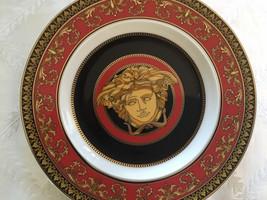 Rosenthal Versace Bread Plates Medusa mint Germany in box - $155.00