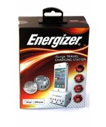 1- Energizer SPMFI2 Charging Station with 3 Outlet - Retail Packaging - ... - $37.12