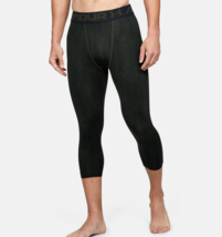 Under Armour Mens HeatGear Armour ¾ Leggings 1291329-310   Baroque Green... - $20.62