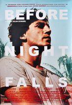 2000 BEFORE NIGHT FALLS Movie POSTER  27x40 Javier Bardem Johnny Depp - $19.99
