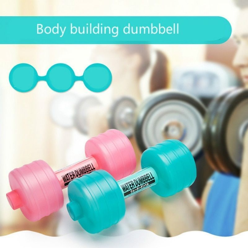 Water DumbBell Body Slimming Weight Loss Dumbbell Handweights Fitness Equipment