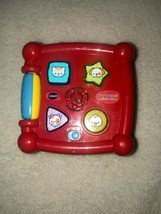 VTech Busy Learners Activity Cube Baby Toddler Interactive Musical Toy - $14.01