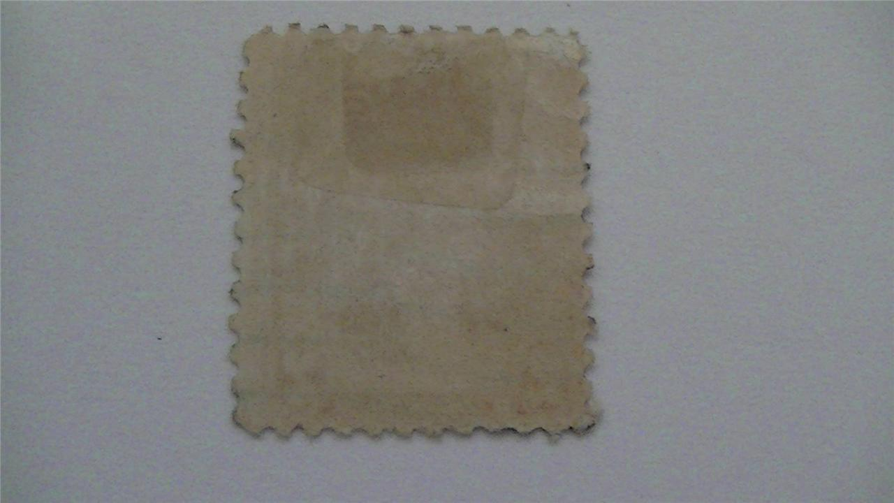 Vintage Washington Carmine USA Used 2 Cent Stamp