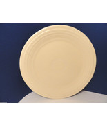 Fiesta Vintage Ivory Dinner Plate 9.5 inches Signed ORIGINAL COLOR - $24.99
