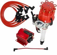 Chevy GM SBC R2R Small Distributor 283 305 327 350 383 400 8mm Spark Plug Wire