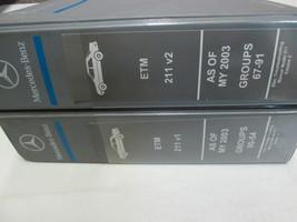 2003 2004 2005 Mercedes E-Klasse 211 Elektrisch Troubleshooting Manuell ... - $152.45