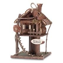 Birdhouse, Modern Hanging Bird House Wood For Hummingbird Chickadee - $22.99