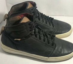 Vans OTW Leather High Tops US Men's Size 9 Vans Off the Wall Collection ... - $29.70