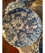 Enoch Wedgwood & Co. Gainsborough Blue Fruit Dishes/Bowls 6 Made in Engl... - $45.00