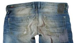 Brand New Diesel Men's Denim Regular Slim Straight Distressed Jeans Safado 0884B