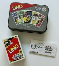 UNO Steelers Card Game Super Bowl XL Special Edition In Tin - $36.00
