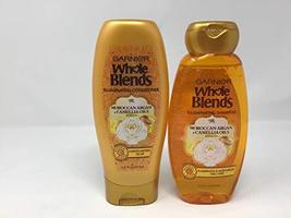 Garnier Whole Blends Moroccan Argan Camellia Oils Shampoo & Conditioner - $14.15