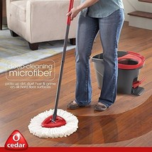 O-Cedar Easy Wring Spin Mop And Bucket System - $44.78