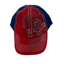 Disney Parks Men's Disneyland Resort Strapback Navy Red Baseball NWT Hat Cap - $23.27