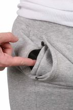 Bench Stick Trouser Womens Stretch Cotton Sweats Sweatpants Heather Grey image 4