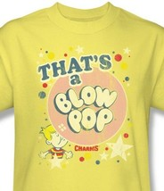 Thats Blow Pop T-shirt retro 1980s yellow distressed cotton graphic tee TR119 image 2
