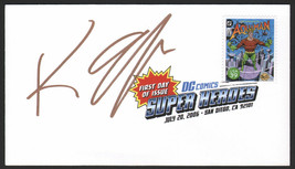 Keith Giffen SIGNED 2006 SDCC USPS FDI First Day Art Stamp ~ Aquaman Cur... - $24.74