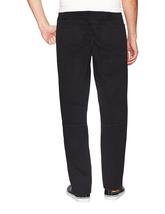 LR Scoop Men's Casual Stretch Denim Pants Moto Quilt Zipper Fashion Solid Jeans image 3