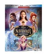 Disney's The Nutcracker And The Four Realms [Blu-ray + DVD + Digital]  - $22.95