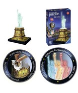 108 PIECES STATUE OF LIBERTY 3D PUZZLE - NIGHT EDITION - $37.86