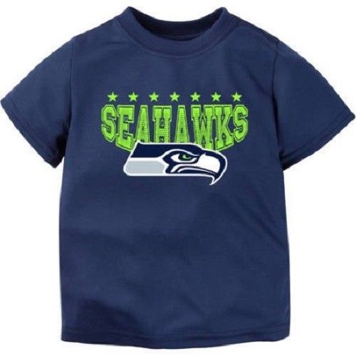 Primary image for NFL Seattle Seahawks Boys Top  Shirt Toddler Size 4T NWT