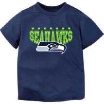 NFL Seattle Seahawks Boys Top  Shirt Toddler Size 4T NWT - $17.99