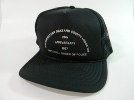 Oakland County Michigan Cap Hat Mesh Snapback Faternal Order Of Police B... - $16.78
