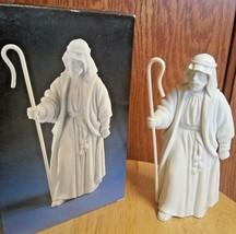 1983 Avon Nativity Collectibles the Shepherd Porcelain Figurine - $15.85
