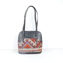 Leather kilim bags,cicim kilim bags,Leather and Kilim bags,vintage rug ... - $199.00