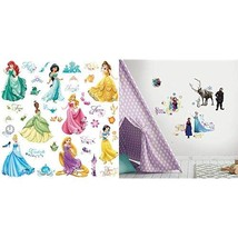 Roommates Ss Royal Debut Peel And Stick Wall Decals And Roommates Frozen Peel An - $37.99