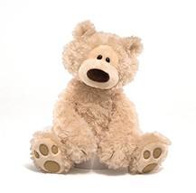 "GUND Philbin Teddy Bear Stuffed Animal Plush, Beige, 12"" - $21.66"