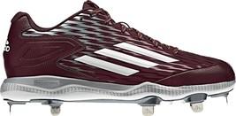 New Men's Adidas S84763 PowerAlley 3 Low Metal Baseball Cleats Black Var... - $35.99