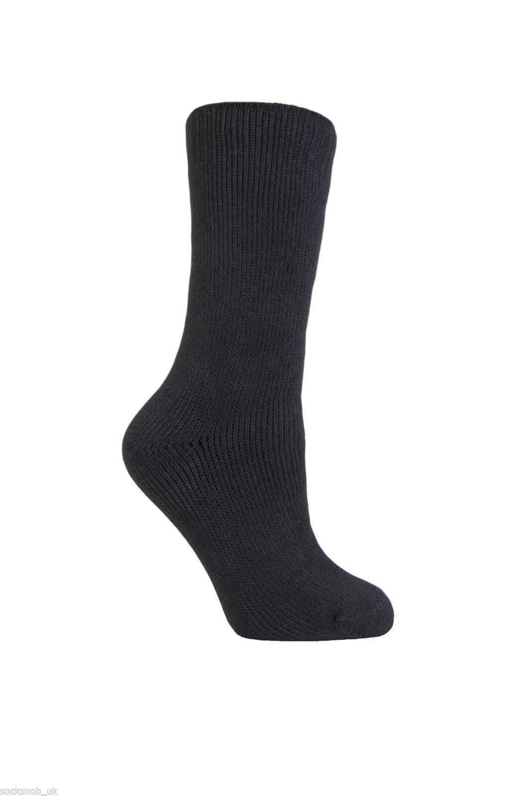 Heat Force - Multi Pack Thick Winter Warm Thermal Socks,4-8 uk, 37-42 eur
