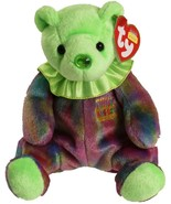 Ty Beanie Baby August Peridot Birthstone Teddy Happy Birthday Bear - $8.99