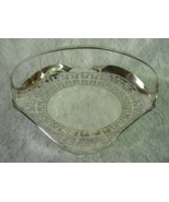 Van Bergh Silver Plate Co. Rochester, NY Reticulated Footed Bridal Basket  - $30.00