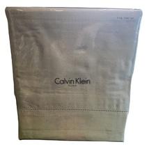 Calvin Klein Woven Combed 100% Combed Cotton King Sheet Set, Azores, Gra... - $85.00