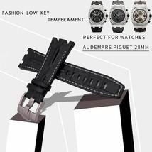 Genuine Cowhide Leather Watch Strap Suitable For AUDEMARS PIGUET Watchband Belt - $52.55