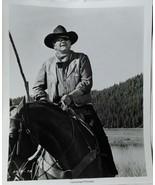 Vintage John Wayne Studio Black and White Photo - True Grit - $14.99