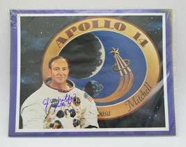 Edgar D. Mitchell Apollo 14 NASA Astronaut Moon Walker Signed 8x10 Photo... - $247.38