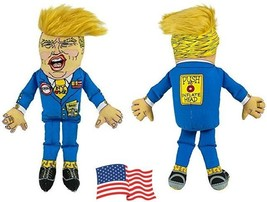 Donald Trump Doll Dog Toy 14'' Presidential Political Fun Gag Collectibl... - $24.74