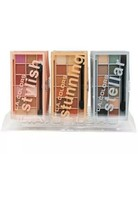 3 X L.A. Colors Eyeshadow Make Up Palettes Set Of 3 - $9.41