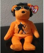 Ty Beanie Baby Beanie House Rock Elvis Beanie CREASED TAG - $15.83