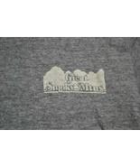 "VTG Great Smoky Mountains Ringer Tee SHIRT Cotton/Poly/Rayon ""XL"" Sportw... - $16.82"