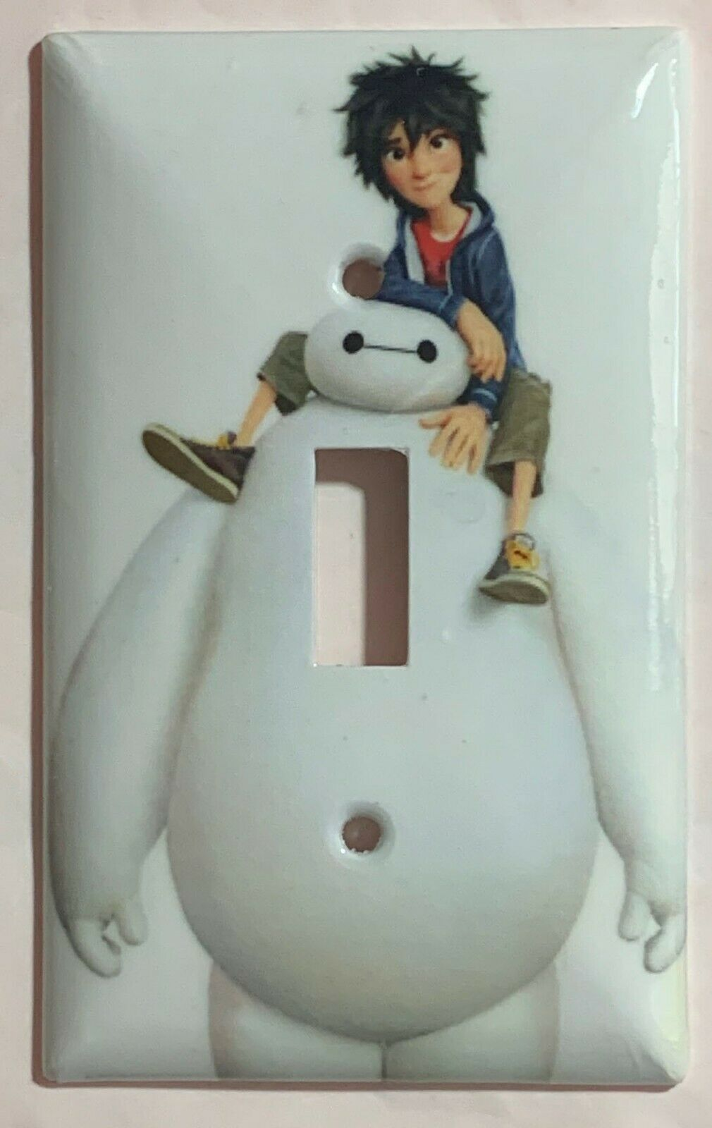The Big Hero 6 Light Switch Outlet Duplex GFI Rocker Wall Cover Plate home decor