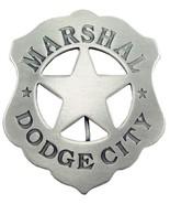 Old West Obsolete Marshall Badge Dodge City - $12.99