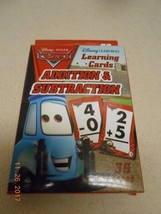 New Disney Pixar Cars 36 Cards Addition & Subtraction w/ answers Stocking Stuffe image 1