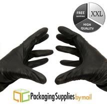 4 Mil Nitrile Gloves Powder Free Black Medical Exam Size - 2X-Large 8000... - $408.92