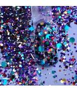 glitter mix acrylic gel nail art CONFETTI COCKTAIL - $6.88
